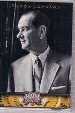 2012 Panini Americana Heroes & Legends Lyndon Johnson