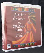 Jostein Gaarder The Orange Girl Unabridged 4 Cd Audiobook