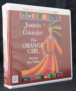 Jostein Gaarder The Orange Girl Unabridged 4 Cd Audiobook