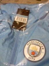 Manchester City Nike Lightweight Full Zip Mens Raincoat Jacket Size Medium NEW