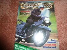THE CLASSIC BIKE 1986 MAGAZINE