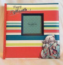 Me To You - Happy Eighteenth - Photo Album - Brand New