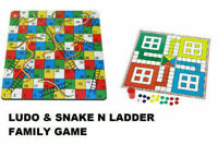 Ludo Snakes And Ladders Game Playing With Kids Children Family Game FREE POSTAGE