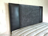 **QUALITY  2 TONE CHENILLE**  HEADBOARD ALL SIZES AVAILABLE BEST ON EBAY