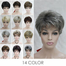 14 Colors Women ladies Short Curly Daily Hair Wig Natural #5976 + free wig cap