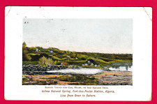 Dated 1911. Port -Aux-Poules Station, Algeria, Africa
