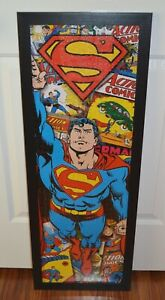 Aquarius Superman Jigsaw Puzzle 1000 Pieces 12 IN X 36 IN Assembled Brand New