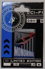 Disney Pin DLR Sci-Fi Academy Monorail Retro Poster Pin LE500