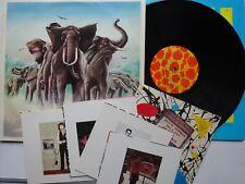 "ELVIS COSTELLO Armed Forces LP & Hollywood High 7"" & 4 Postcard Set - EX/VG+"