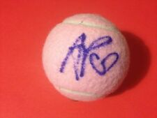 Andrea Petkovic Pink Wilson Hope Cancer Research Tennis Ball Signed Auto COA
