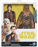 "Star Wars Chewbacca & Han Solo 10"" Toys R Us Exclusive Rare"