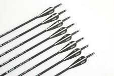 MUSEN 12PCS 31'' Carbon Arrows Archery Bow Hunting Sports Arrows SP500