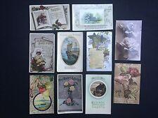 Birthday Greeting Postcard Collections/Bulk Lots