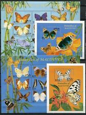 MALEDIVEN MALDIVE 2000 Schmetterling Butterfly Papillon 3400-3417 + Bl. 442-443