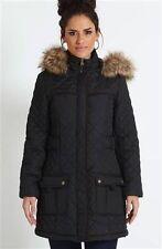 Brave Soul Hip Length Faux Fur Coats & Jackets for Women
