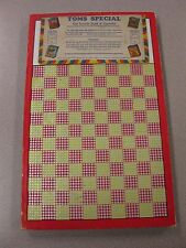 Vintage Punch Board TOMS SPECIAL .10 Cigarett Gambling Device #2106 BOX#PB-16