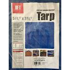 HFT 69136 5 x 7 ft. 6 in. Blue All Purpose/Weather Resistant Tarp
