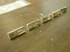 NOS OEM 1952 1953 Mercury Hood Letters Emblems Ornaments Montclair Monterey Ford