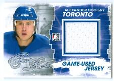 "ALEXANDER MOGILNY ""BLUE GAME USED JERSEY CARD"" ITG FOREVER RIVALS"