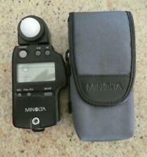 Minolta camera auto meter IV F with case