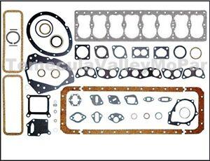 Engine Gasket Set for 1942-1950 Chrysler Straight Eight