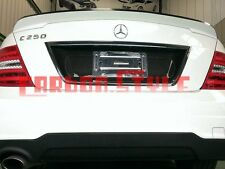 Painted Color For Mercedes BENZ W204 High Rear Trunk Spoiler Wing C250 C300 08+