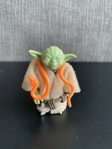 Vintage Star Wars 1980 YODA EXCELLENT condition w/ ORIGINAL accessories COO HK