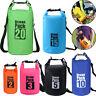 PVC Waterproof Dry Bag Sack For Canoe Floating Boating Kayaking Camping Backpack