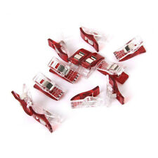 10 PCS Plastic Wonder Clips Clamps for Patchwork Sewing Craft Quilt DIY Clear