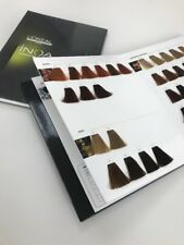 L'Oreal Colour Swatch Book INOA Technologie ODS Colour Chart.