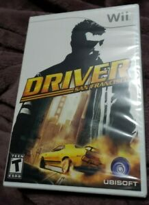 New Sealed Driver San Francisco for Nintendo Wii 2011