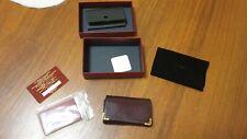 Cartier 6 Key Ring Holder Case Must De Cartier Burgundy Calfskin Gold Hardware