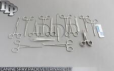 48 PCS CANINE SPAY PACK VETERINARY SURGICAL INSTRUMENTS