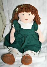 Jolie poupée chiffon vintage ancienne tissu 42 cm