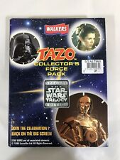 Walkers Tazo Collectors Force Pack The Star Wars Trilogy Edition 1 Complete.