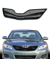 For 2010-2011 Toyota Camry Black Wire Mesh Front Hood Bumper Grill Grille Guard