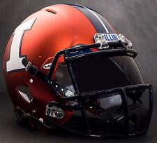 ILLINOIS FIGHTING ILLINI Gameday REPLICA Football Helmet w/ OAKLEY Eye Shield