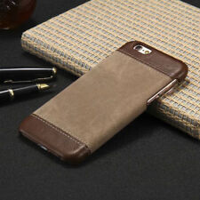 Luxury PU Leather Hard Back Case Cover For Apple iPhone 6 /6S