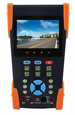 "3.5"" Cctv Ip Camera Tester Monitor Ip Analog Tvi Camera Testing Onvif Ptz 12V"
