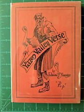 Yazoo Valley Verse Edward Francis Younger 1926 Hardcover Black American Poetry
