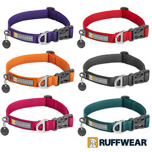 Ruffwear Front Range Dog Collar 2020 All Colours & Sizes, Soft Durable Everyday