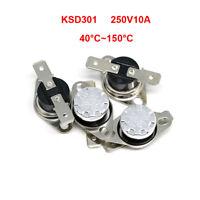 KSD301 10 pcs Temperature Switch Control Sensor Thermal Thermostat 92°C N.C