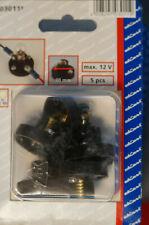 düwi 5er Packung Lampen-Fassungen mit Schraubanschluss E10 max. 12V 03011