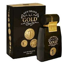 GOLD by New Brand 100 ml MEN EDT COLOGNE PERFUME (NO-BOX)