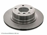 BLUE PRINT BRAKE DISCS REAR PAIR FOR A BMW 1 SERIES COUPE