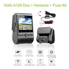 Viofo A129 Duo GPS Dual HD Lens Car Dash Camera G-Sensor with Hardwire &Fuse Kit