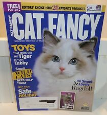 8 Cat Fancy Magazines with Ragdoll, Birman, Norwegian Forest, Turkish Angora
