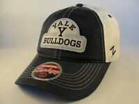 Yale Bulldogs NCAA Zephyr Trucker Snapback Hat Cap