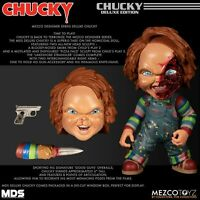 "Childs Play Deluxe Chucky Roto Vinyl Figure 6"" Stylized Designer Series Mezco"