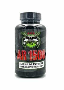 Freedom Pharma AR1500 AR 1500 Extreme Fat Burner, 84 Capsules - 06/22